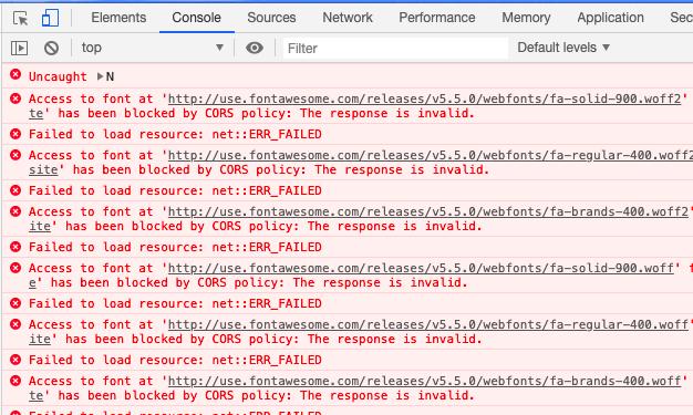 WordpressでLuxeritasを使っていたらCORSで怒られてアイコンがでなくなった件