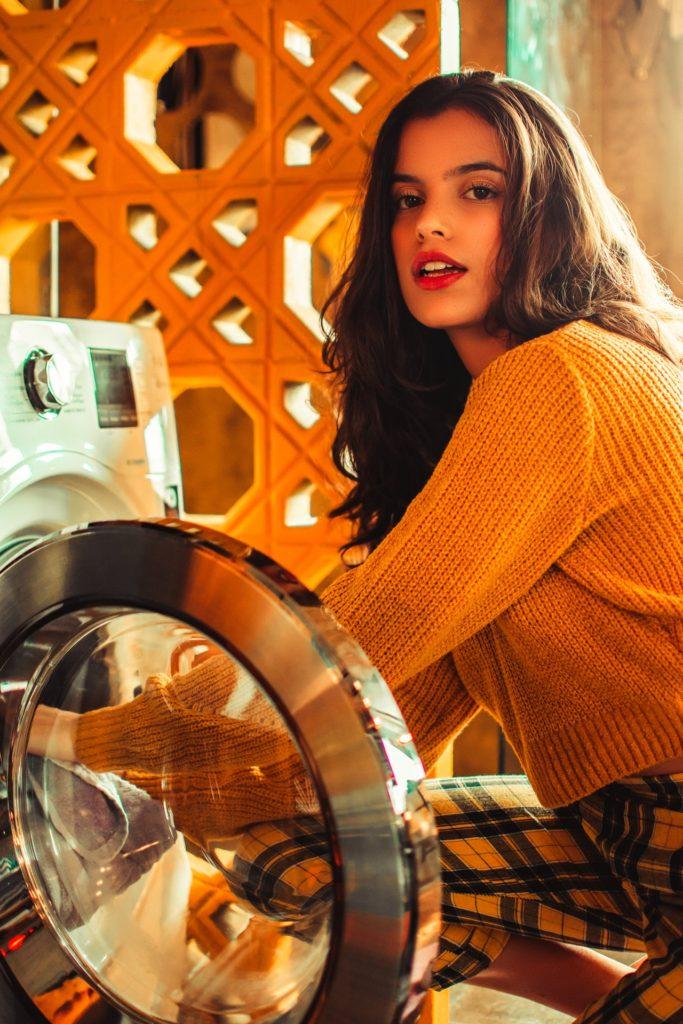 洗濯物につく毛を取る方法