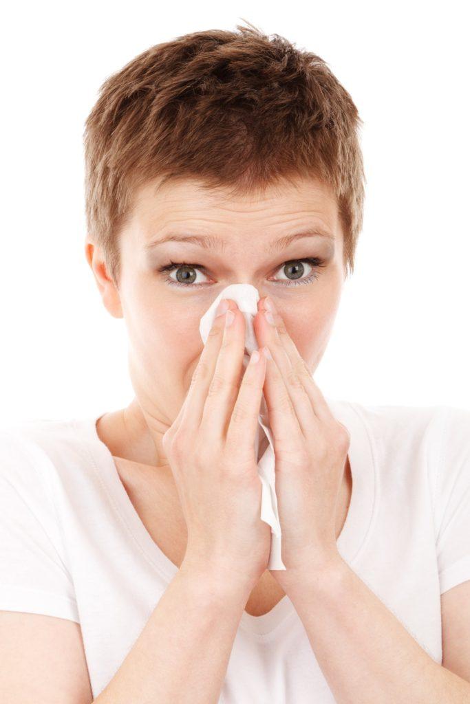 花粉症になるとインフルエンザにかかりやすくなる
