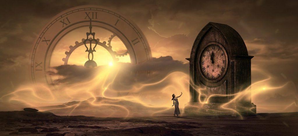 時間には過去も未来も今もなく同時に存在するといわれる概念